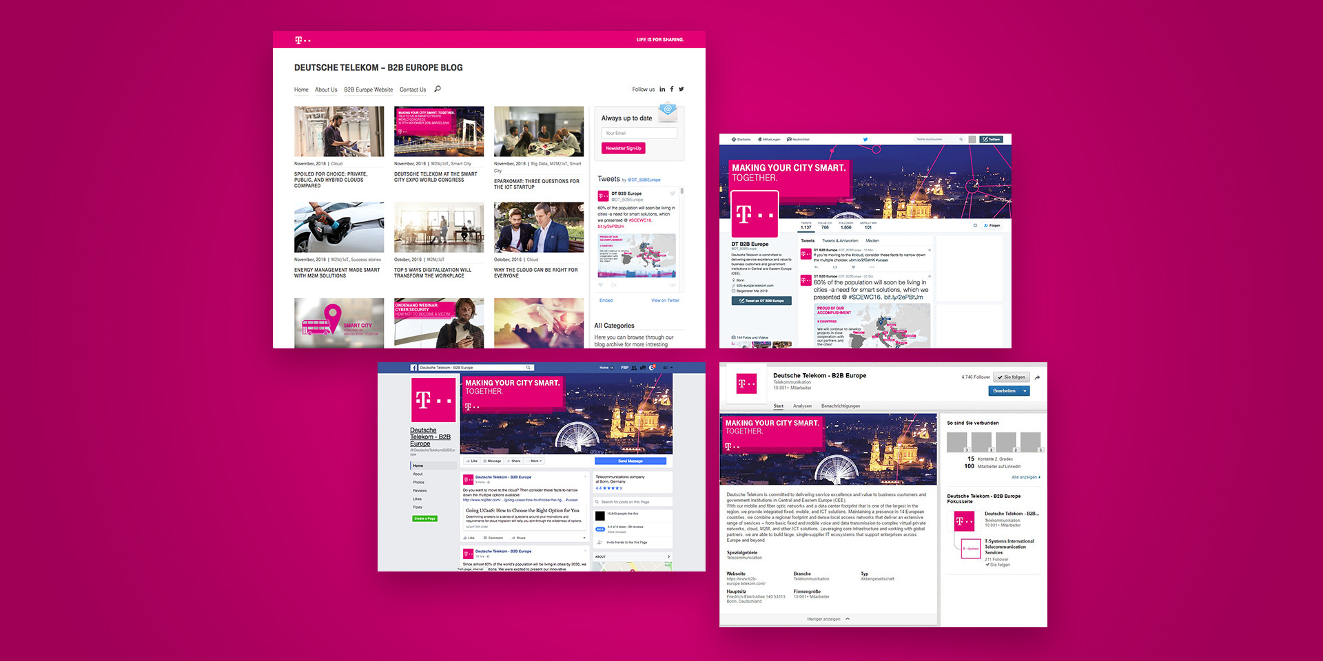 Deutsche Telekom – B2B Europe – Blog & Social Media
