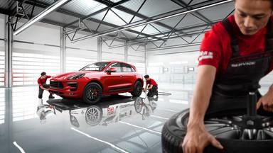 Porsche Service. Performance Maintained.