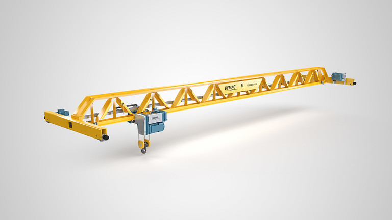 Demag Cranes – V Profile Crane – Launch Campaign