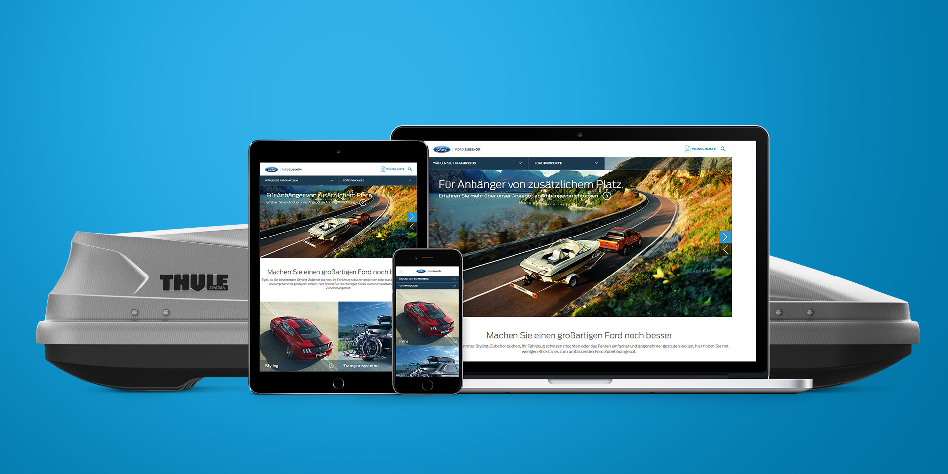 Ford Europe – Online Accessory Catalogue – Responsive Design