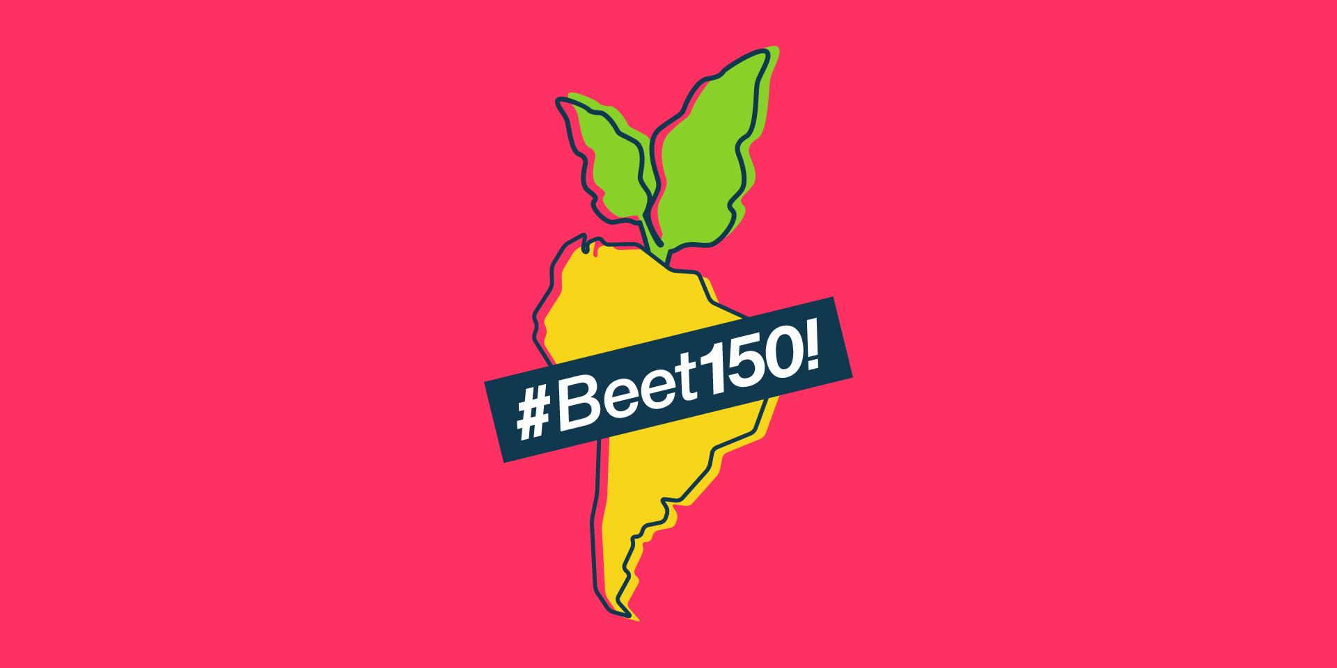 beet150 hashtag visual